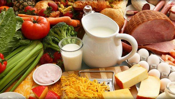 Меню витаминно-белковой диеты