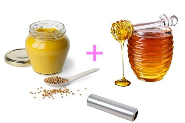 Обертывание с мёдом и горчицей для похудения