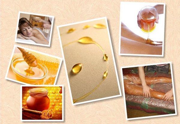 Обертывание для похудения с медом