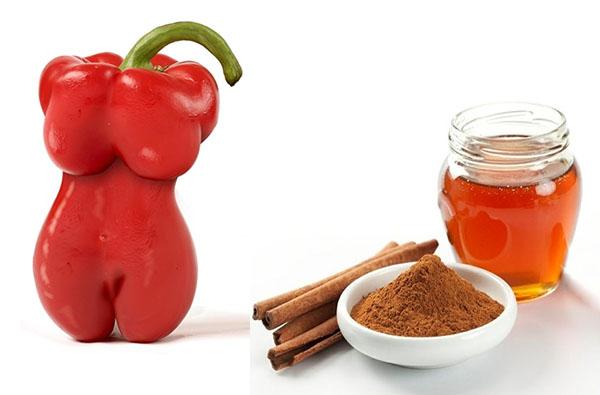 Рецепты для обёртываний с красным перцем