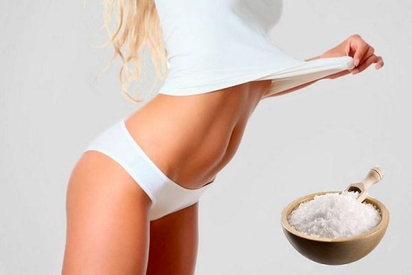 Солевое обёртывание для похудения