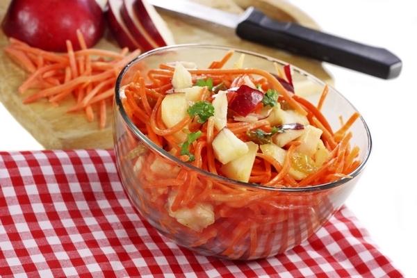 Салат из моркови для похудения