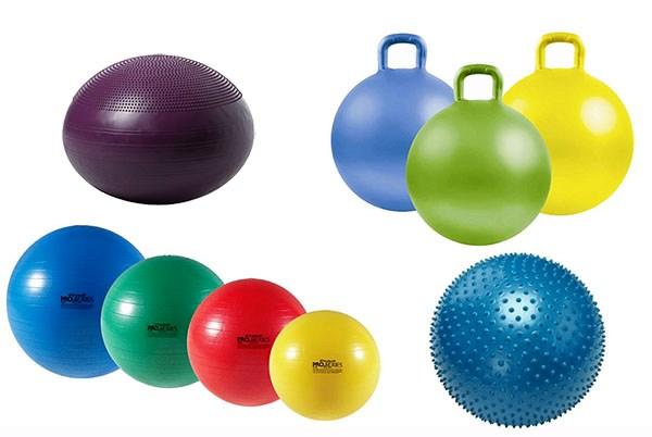 Виды фитбола для похудения