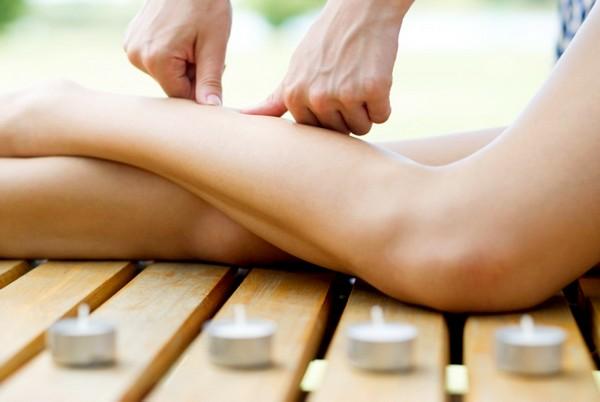 Точечный массаж для похудения