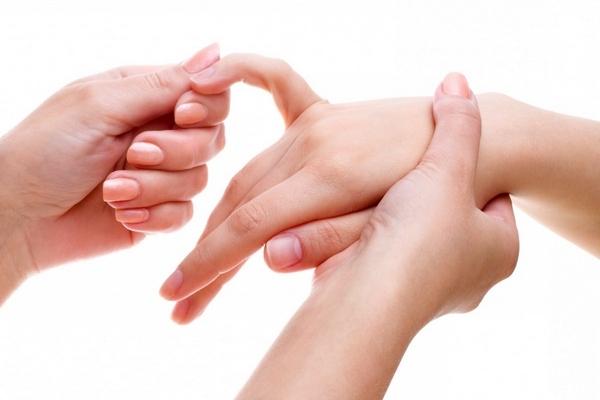 Массаж для похудения пальцев