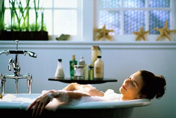 Ванна с эфирными маслами для похудения
