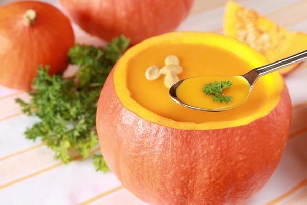 Тыквенный жиросжигающий суп