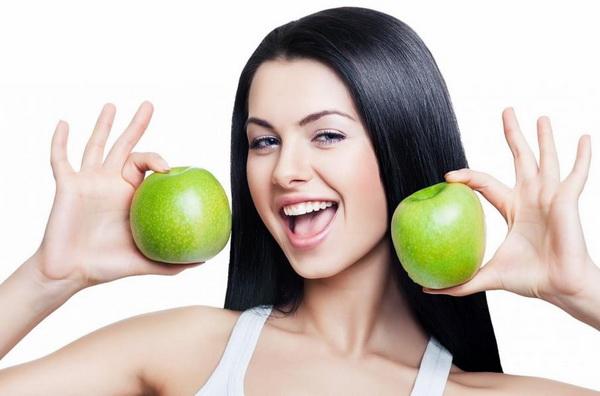 Диета с яблоками для похудения