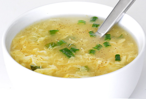 Яичный суп по Дюкану