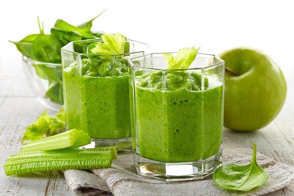 Зелёный протеиновый коктейль для диеты Дикуля