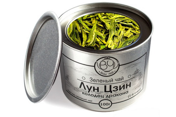 Зелёный чай Лун Цзин