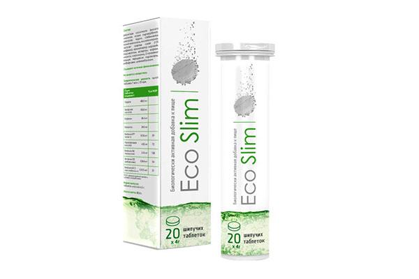 Шипучие таблетки Eco Slim для похудения