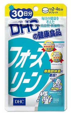 Японские таблетки Форсколин от фирмы DHC