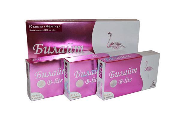 билайт B Lite капсулы для похудения купить