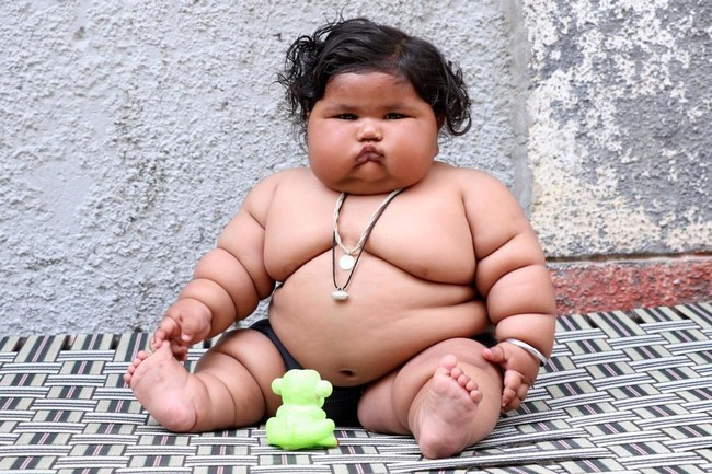 Подросток с лишним весом