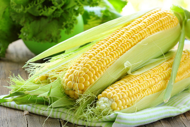 Сырая кукуруза с рыльцами для похудения