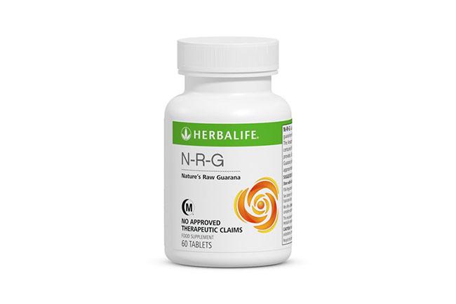 Таблетки NRG компании Herbalaife