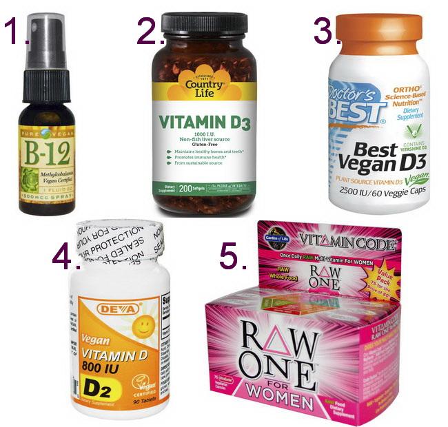 Витамины для вегетарианцев и веганов какие выбрать