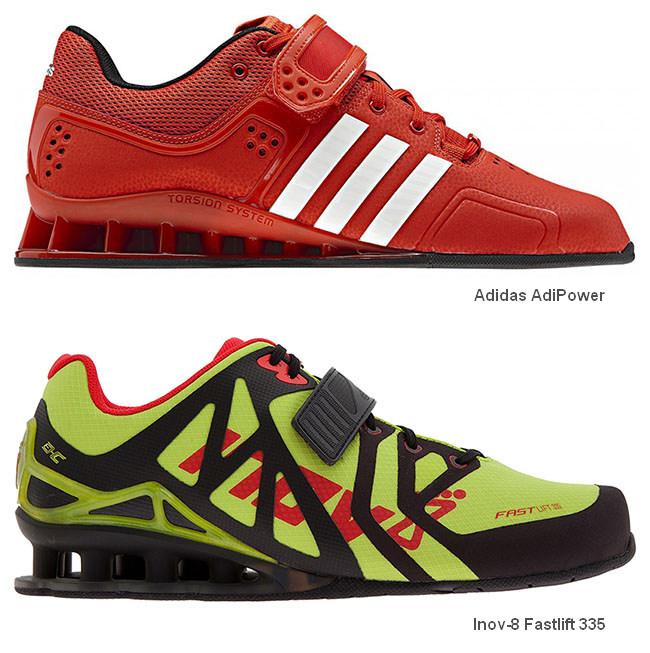 Штангетки Adidas AdiPower и Inov-8 Fastlift 335