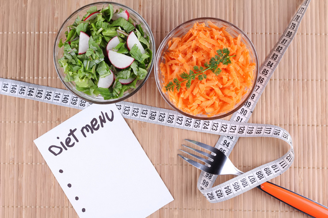 Дробное питание для похудения. Меню на день и неделю