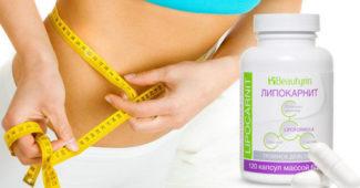 Lipocarnit (Липокарнит) капсулы для похудения купить в Белой Березке