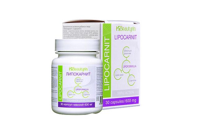 Препарат для борьбы с лишним весом Липокарнит