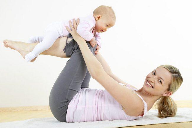 Не могу похудеть после рождения ребенка