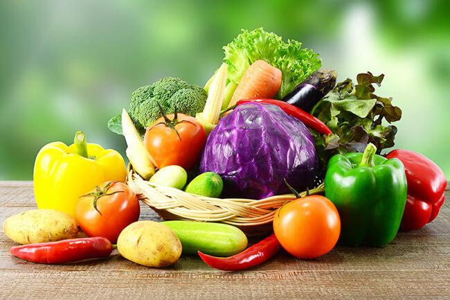Меню овощной диеты для похудения