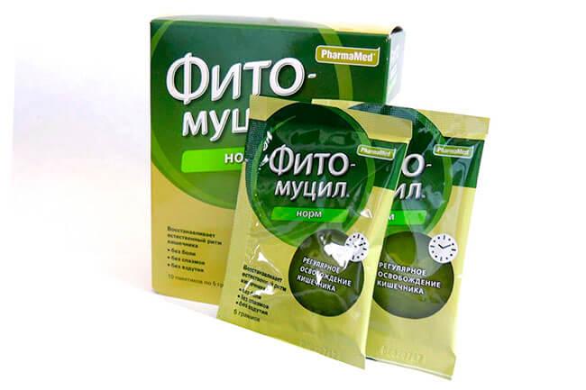 Слабительный препарат для очищения кишечника и похудения