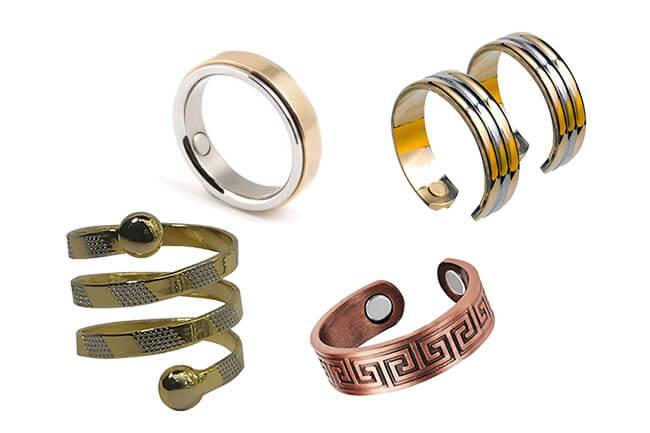 Кольца для похудения с магнитом