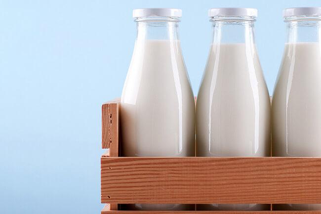 Молоко при диете для похудения