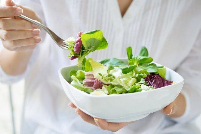 Диетические салаты из овощей для похудения