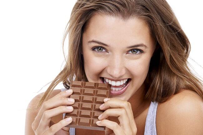Черный шоколад для похудения