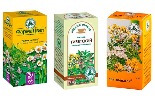 Аптечные травяные сборы для чистки организма