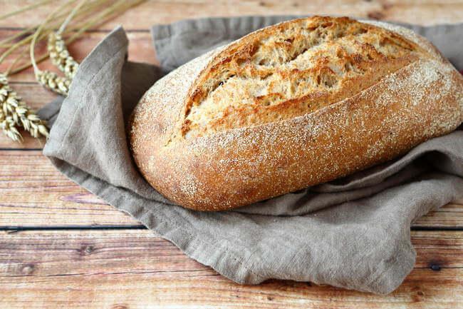 Хлеб без дрожжей. Домашний хлеб без дрожжей.