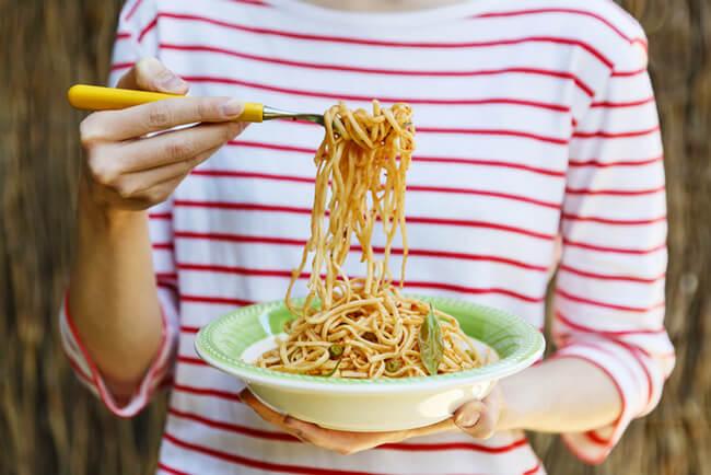 Макаронная диета для похудения меню