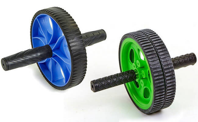 Ролики для пресса с одним и двумя колёсами