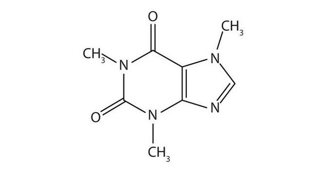 Структурная формула кофеина