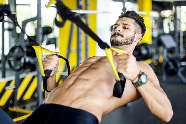 Упражнения на trx петлях комплексы для груди спины пресса + 3 программы тренировок