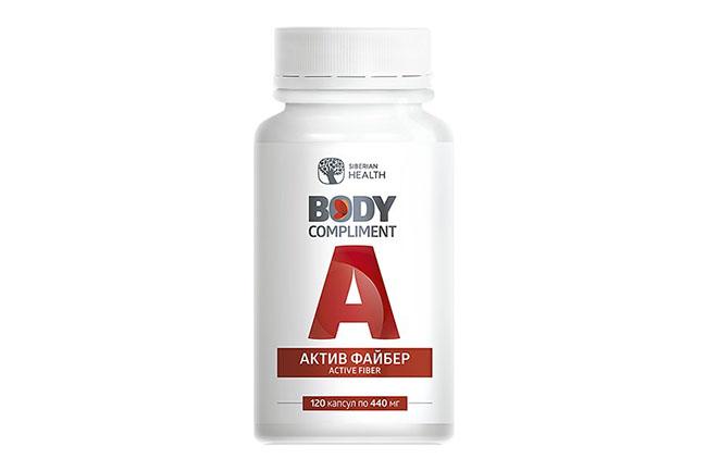 БАД от компании Сибирское здоровье Body Compliment Актив-файбер