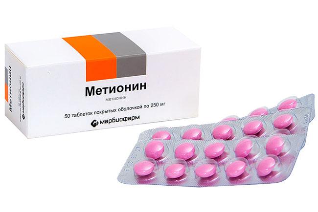 метионин как принимать для похудения отзывы