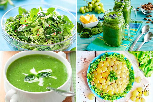 Зеленая Диета Примеры Меню. Зелёная диета для похудения в весенне-летний период