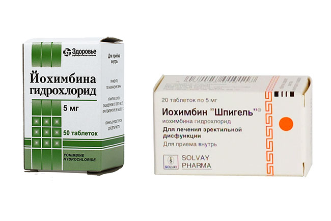 Йохимбина гидрохлорид при похудении