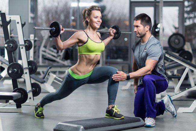 Тренировка с личным тренером